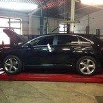 Развал схождение Toyota Venza в Киеве