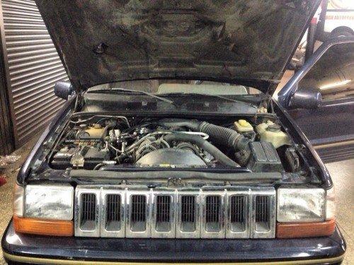Установка ГБО  на Jeep Grand Cherokee