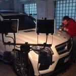 Полировка кузова автомобиля Mercedes