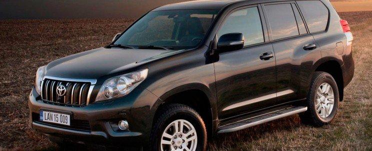 обзор и ремонт Toyota Land Cruiser Prado