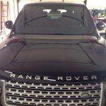 Обработка жидким стеклом Range Rover