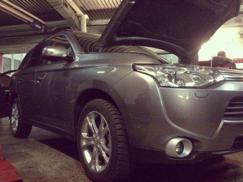 установка гбо на Mitsubishi Outlander New